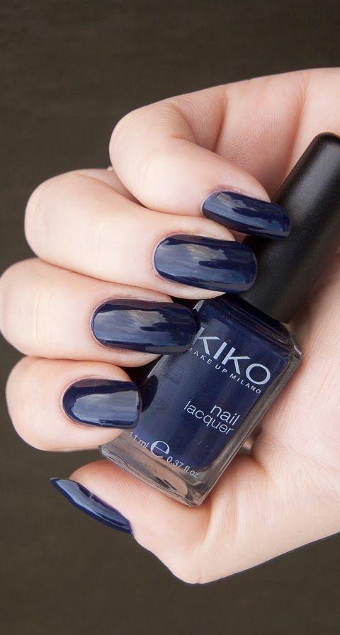 Kiko 523 - Royal blue #nail polish / lacquer / vernis, swatch ...