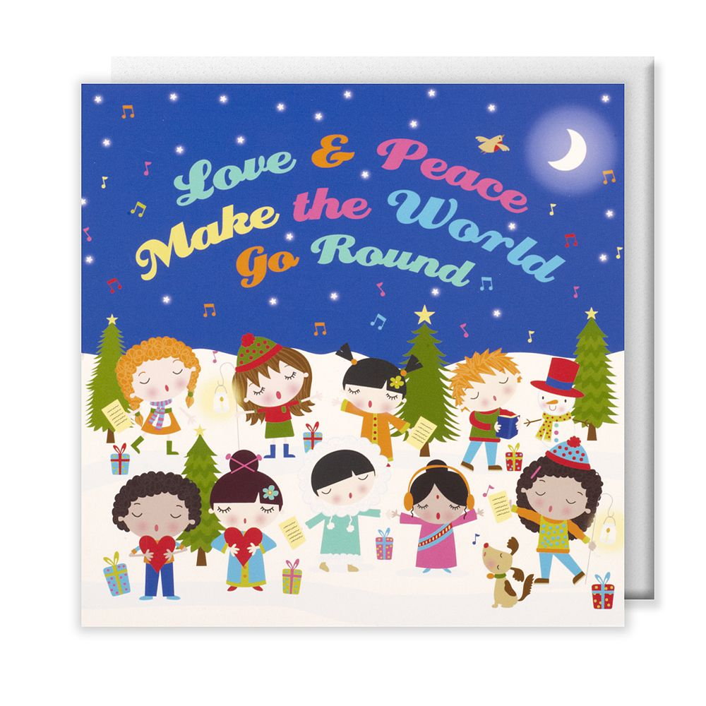 Oxfam Christmas Trees: Children Of The World #Christmas #cards, Pack Of 10