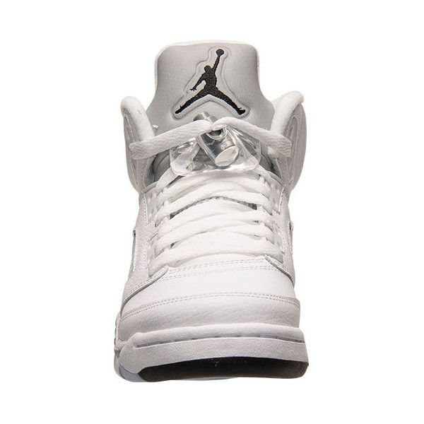 new products 7764f f1f80 Boys  Grade School Air Jordan 5 Retro Basketball Shoes ( 60) ❤ liked on  Polyvore featuring shoes, jordans, sneakers and jordan 5