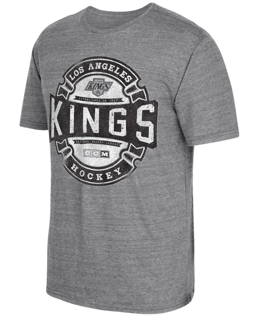 Ccm Men's Los Angeles Kings Game Tested TShirt