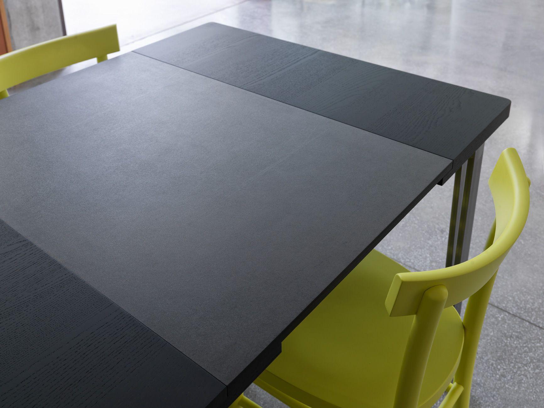 Table Extensible Design. Free Best Table Jardin Bois Laque Blanc ...