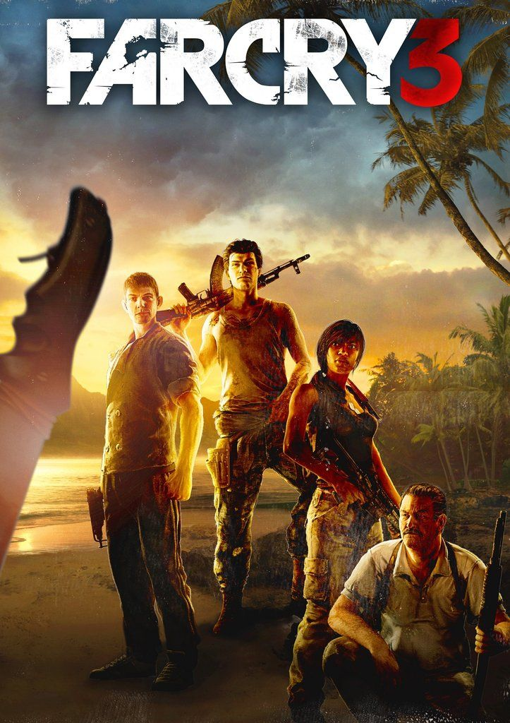 Far Cry 3 Poster Video Game Posters Far Cry 3 Ubisoft