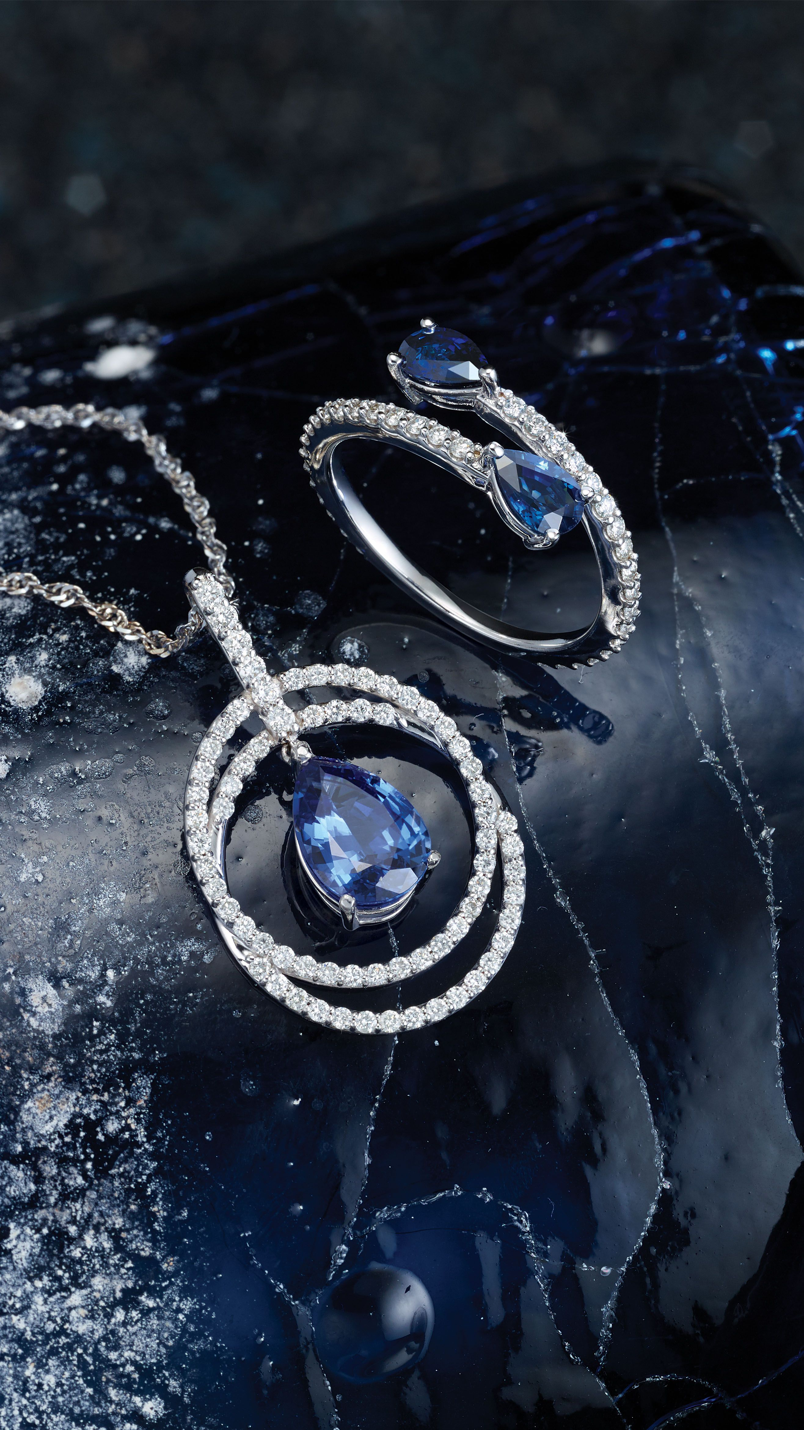 Celebrate September Birthdays with these sapphire styles
