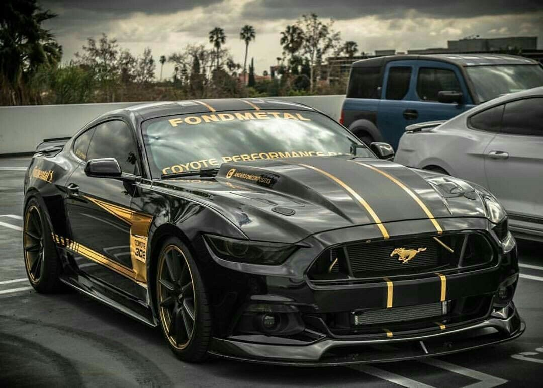 тюнинг ford mustang gt