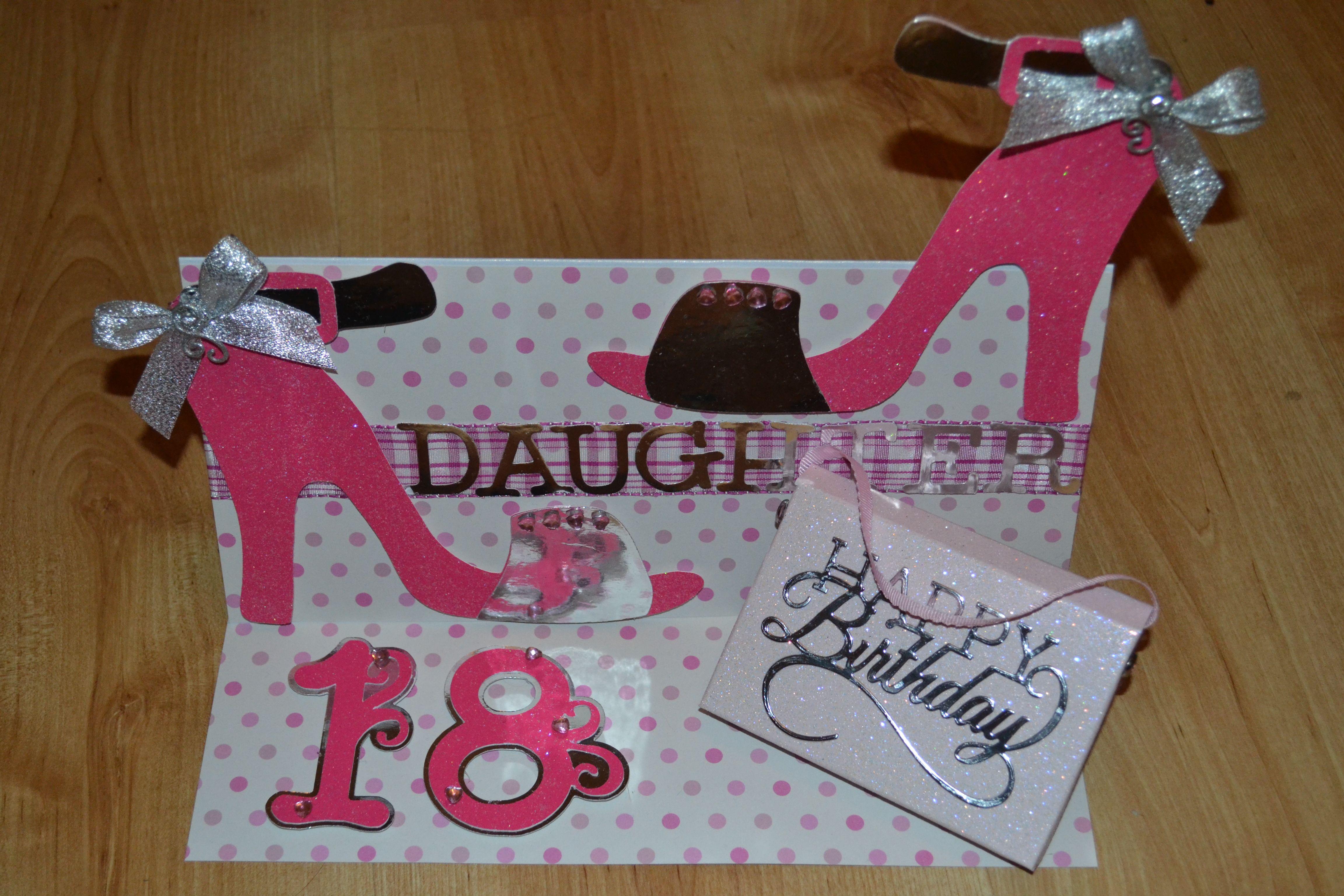 Girlie 18th Birthday card