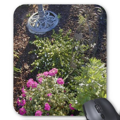 Dee's Garden Mouse Pad | Gardens and Mousepad