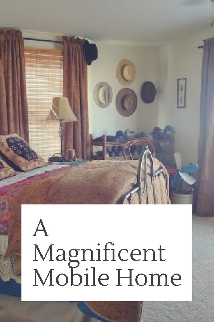 A Magnificent Mobile Home Makeover