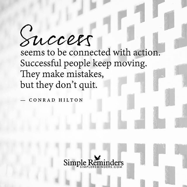 Jason Horsley On Instagram It S Not About Being Perfect It S About Being Persistent Driven Quotes Success Simple Reminders Wisdom Quotes Conrad Hilton