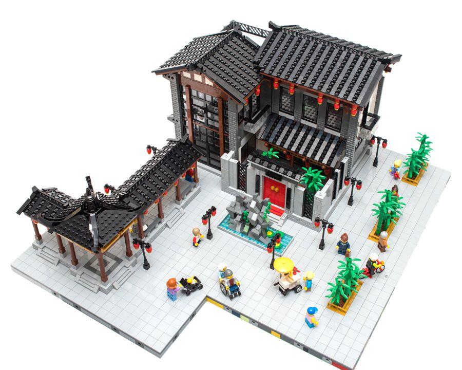 Imgp5425 Lego Ninjago City Lego House Lego Architecture