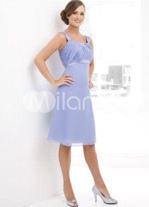 2d18e7efc07 Elegant Sleeveless Empire Waist Satin Chiffon Summer Cocktail Dress ...