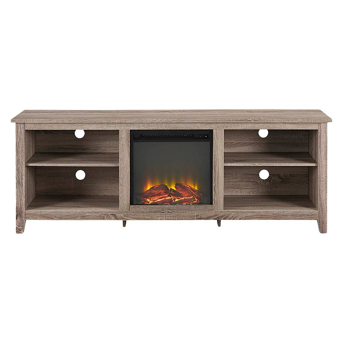 Saracina home tv stand with fireplace tv stands tvs and target