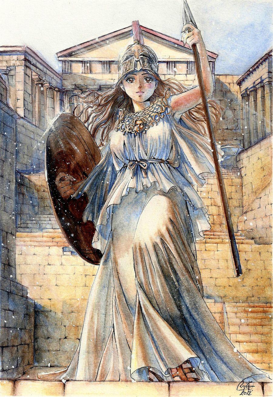 Goddess of war by RegInsenser.deviantart.com on ...