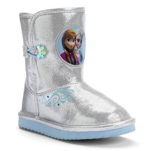 Disney Frozen Elsa & Anna Toddler Girls' Winter Boots
