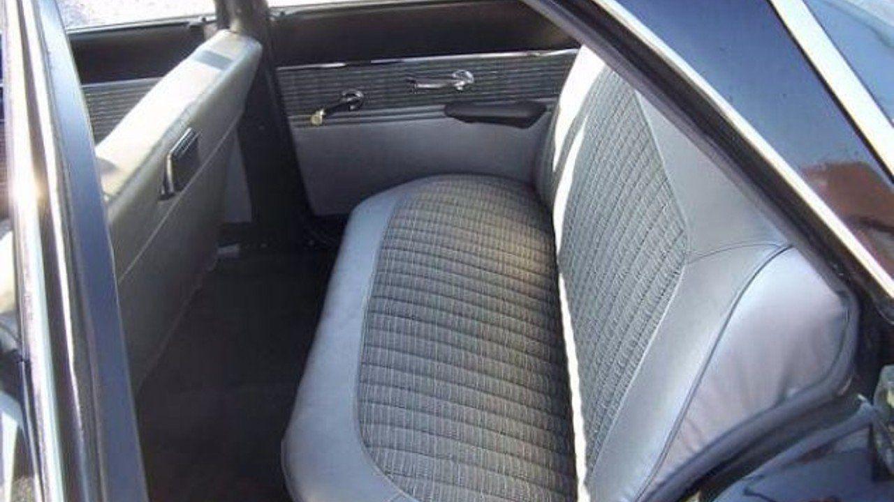 1960 Ford Falcon Interior Back Seat Ford falcon, Ford