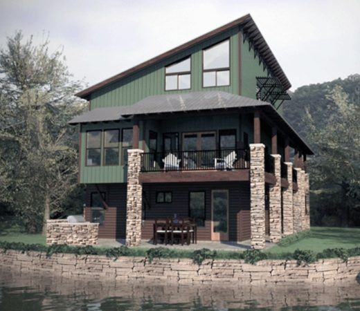 Techos a una sola agua buscar con google arquitectura for Fachadas de casas de una sola planta
