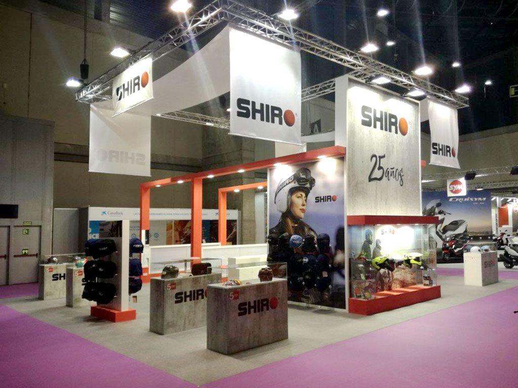 Stand diseñado y construido para Shiro, para la feria Vive