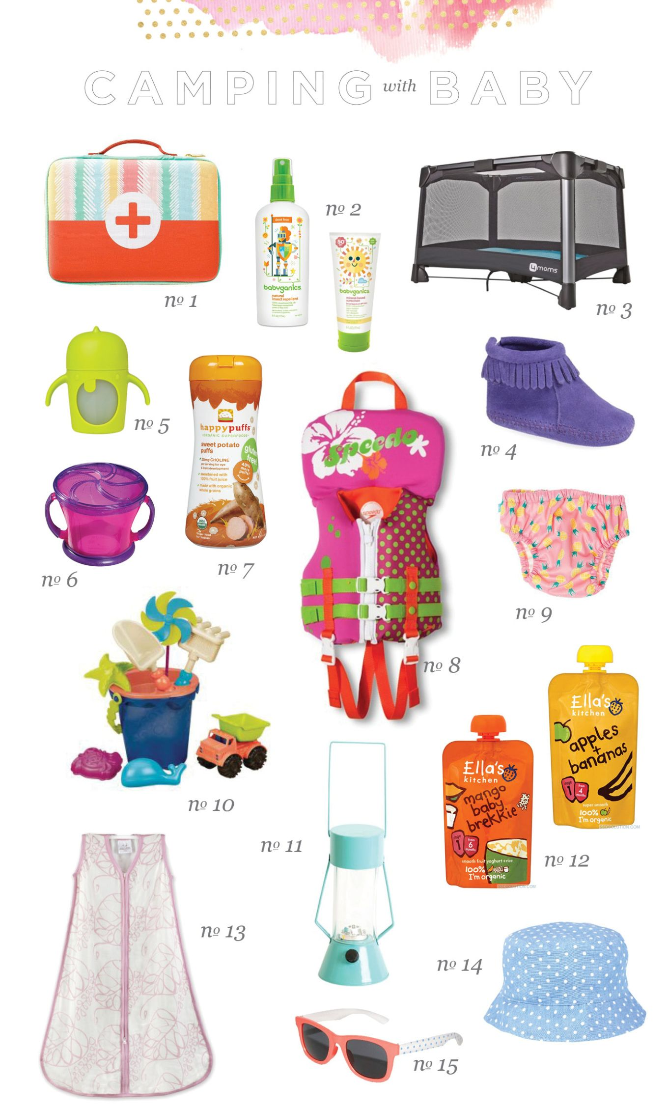 Camping With A Baby Or Toddler What To Pack When