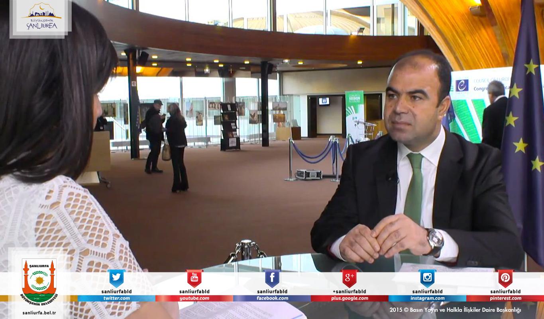 Başkan Çiftçi, Avrupa Televizyonlarında Şanlıurfa'yı Anlattı  Haber Detay;http://www.sanliurfa.bel.tr/…/baskan-ciftci-avrupa-televizy…