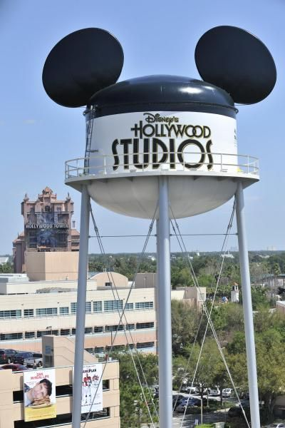 Disney's Hollywood Studios®. My kids favorite ride in the background.