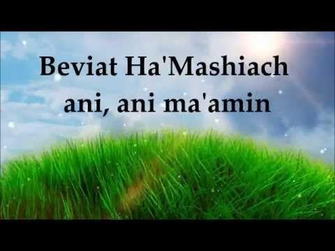 Jonathan Settel Ani Ma Amin Lyrics Letra Youtube Con