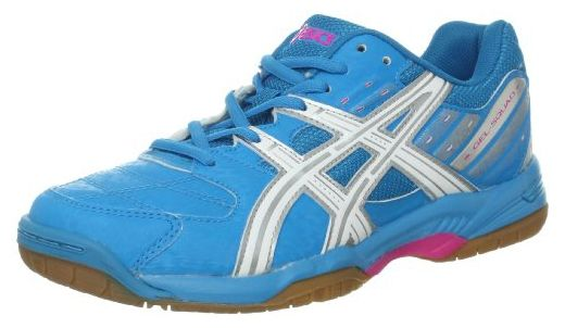 ASICS Frauen Squad Fashion Sneaker Blau Groesse 9.5 US /41 ...