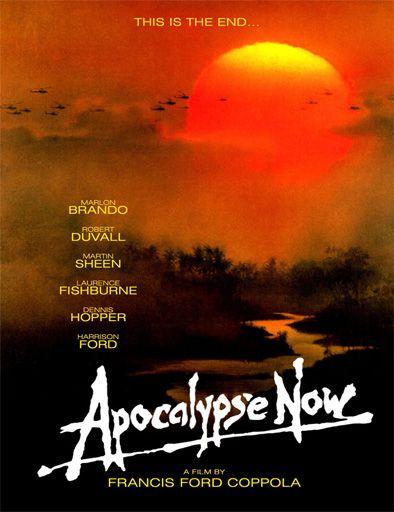 1979 Original Apocalypse Now movie poster reprint