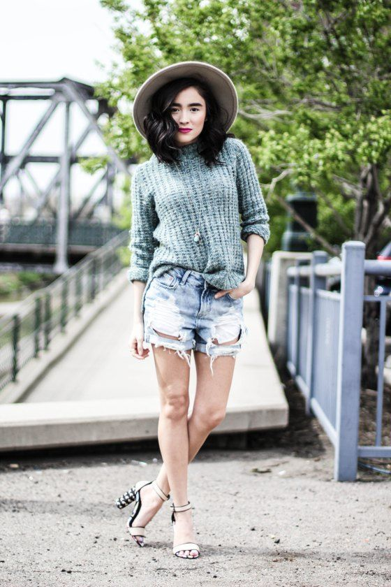 Styling Shorts In Spring Time