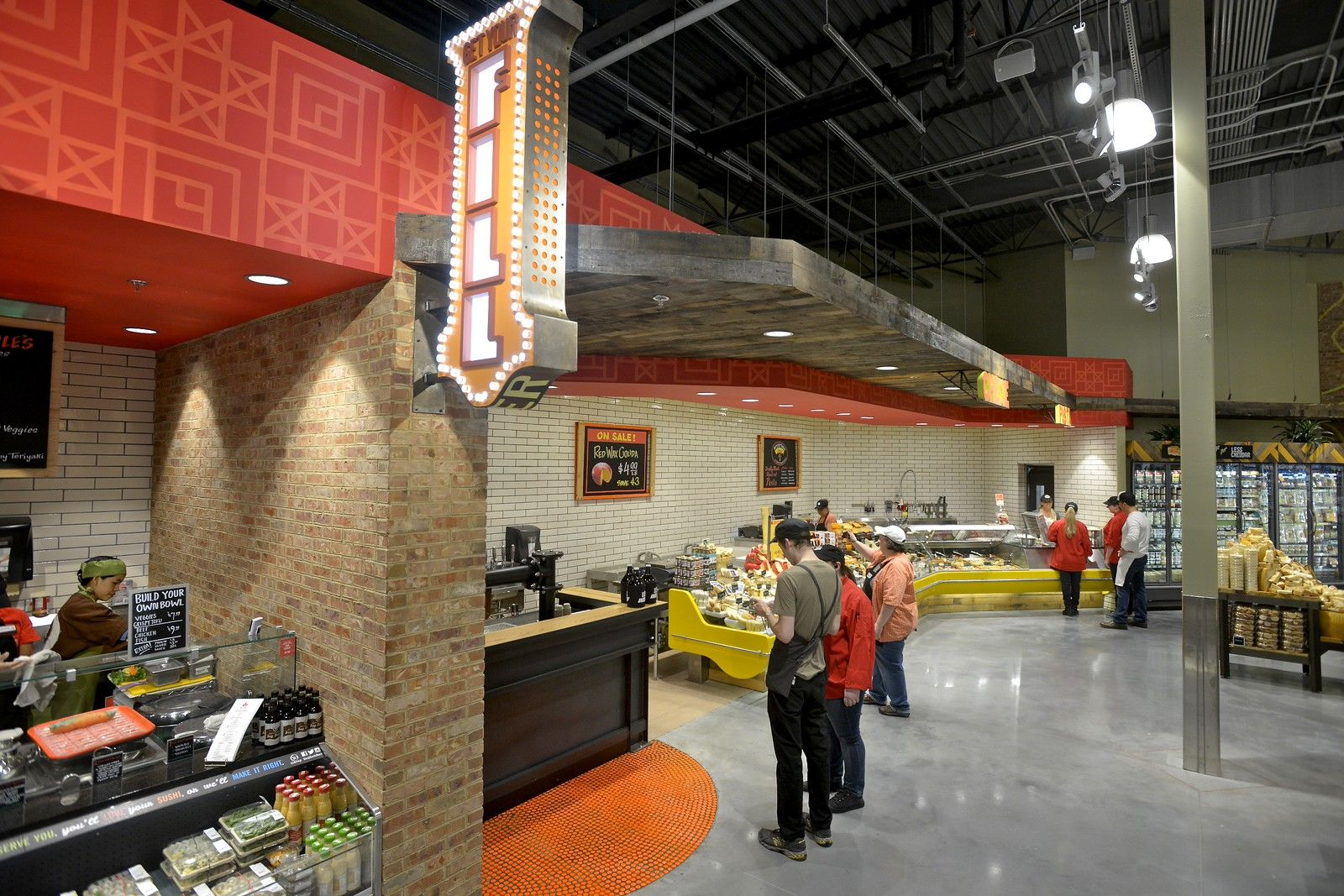 Knoxville tn grand opening wholefoods retail design