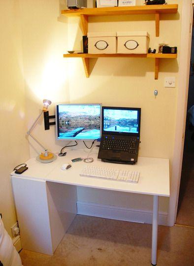Simon S Diy Ikea Kitchen Cupboard Door Hideaway Desk Kitchen