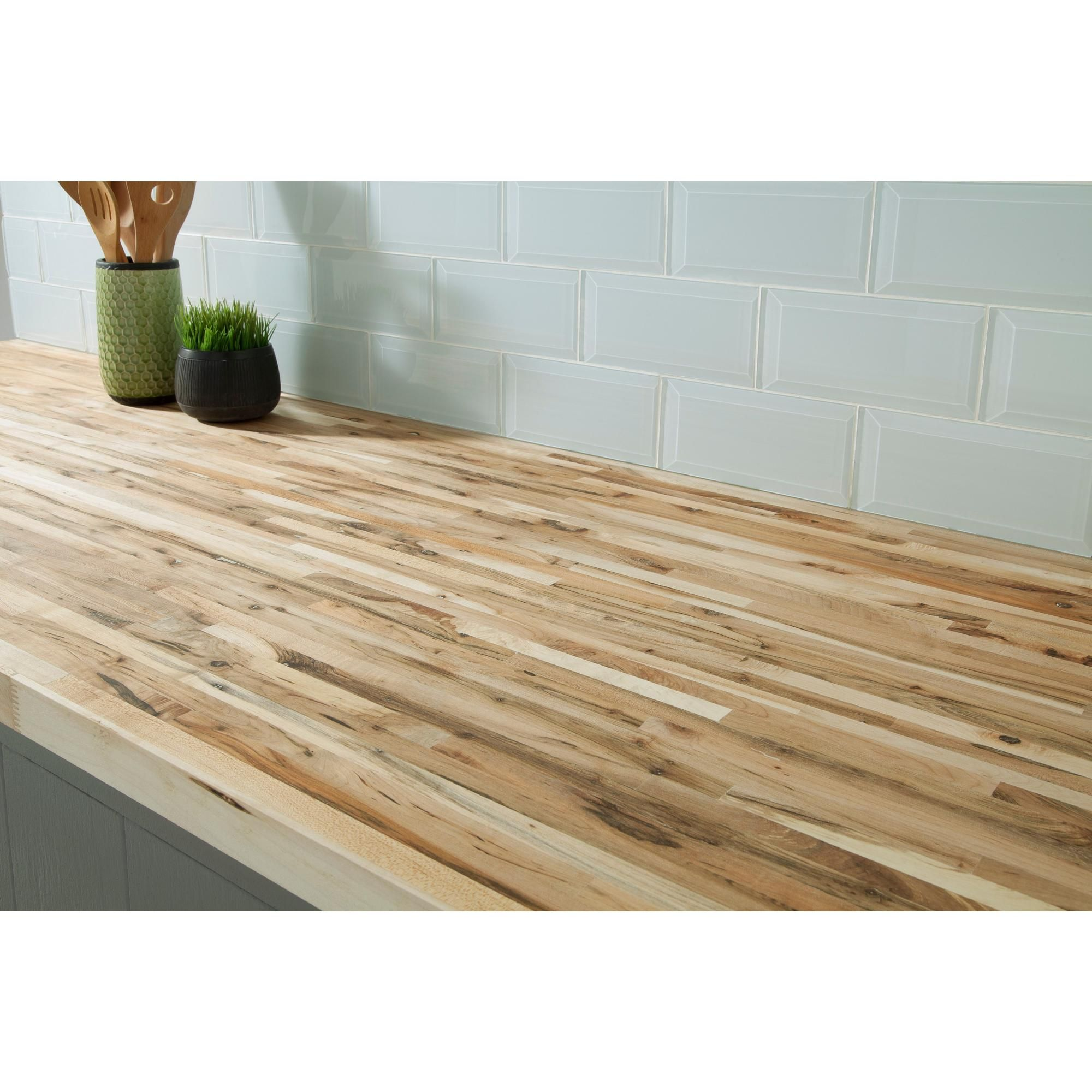 Maple Builder Grade Butcher Block Countertop 8ft With Images