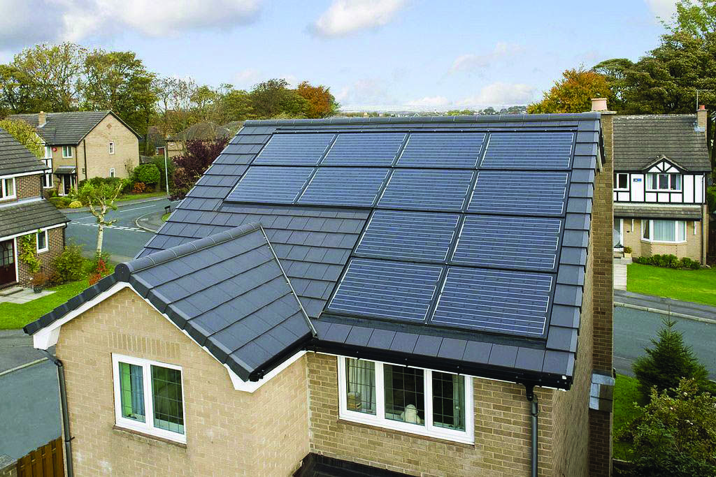 Conveniences And Drawbacks Of Solar Roof Tiles That You Need To Understand About Homes Tre Solar Solar Roof Tiles Solar Panels