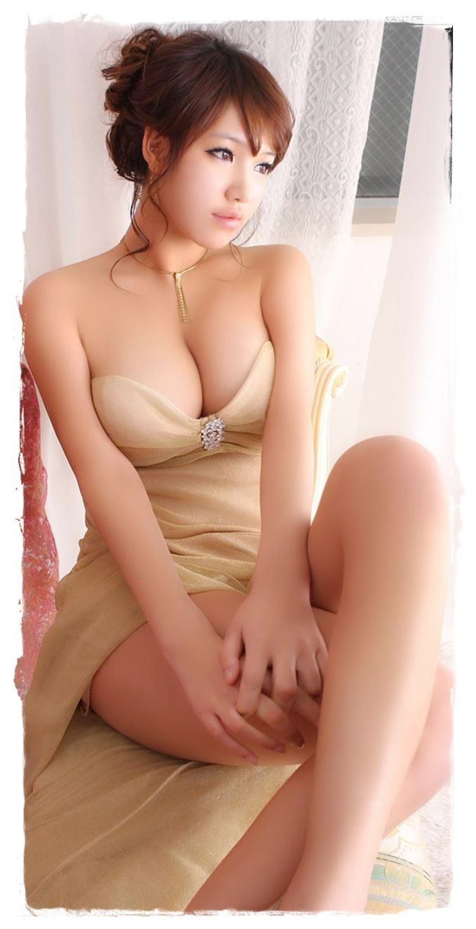 Beautiful asian glamour models rather
