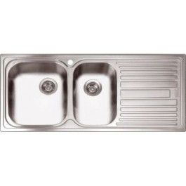 abey dl180l   one and three quarter bowl inset sink abey dl180l   one and three quarter bowl inset sink   kitchen      rh   pinterest com