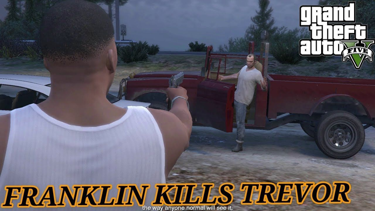 GTA V: Franklin and michael Kills Trevor | GTA 5 Mission