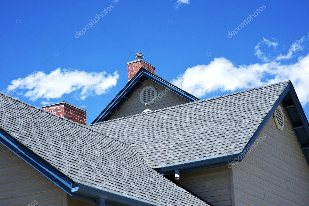 House Roof Stock Photo Sponsored Roof House Photo Stock Ad Roofing Contractors Roofing Residential Roofing
