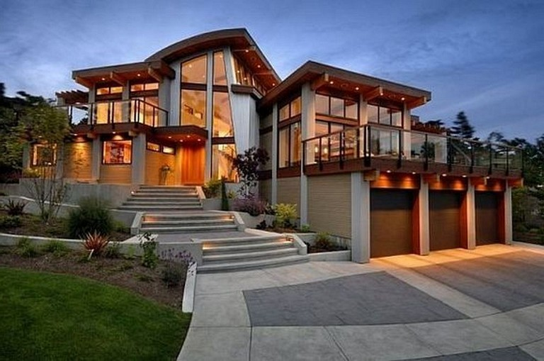 30 Amazing Ideal House Design Corresponding Your Taste House Housedesign Housedesignideas Big Modern Houses Beach House Design Grand Designs Houses