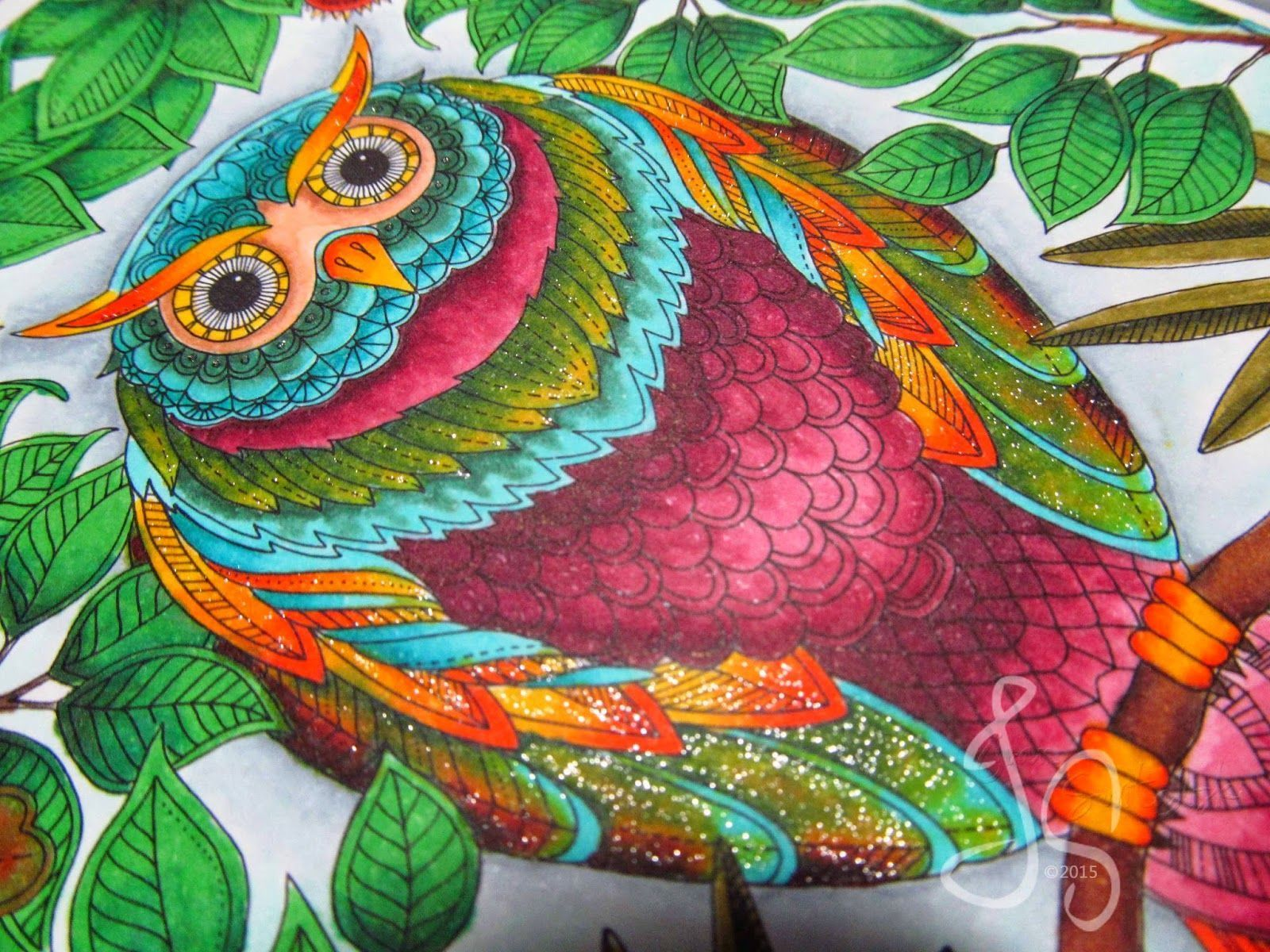 The top 25 Ideas About Finished Coloring Pages for Adults - Best