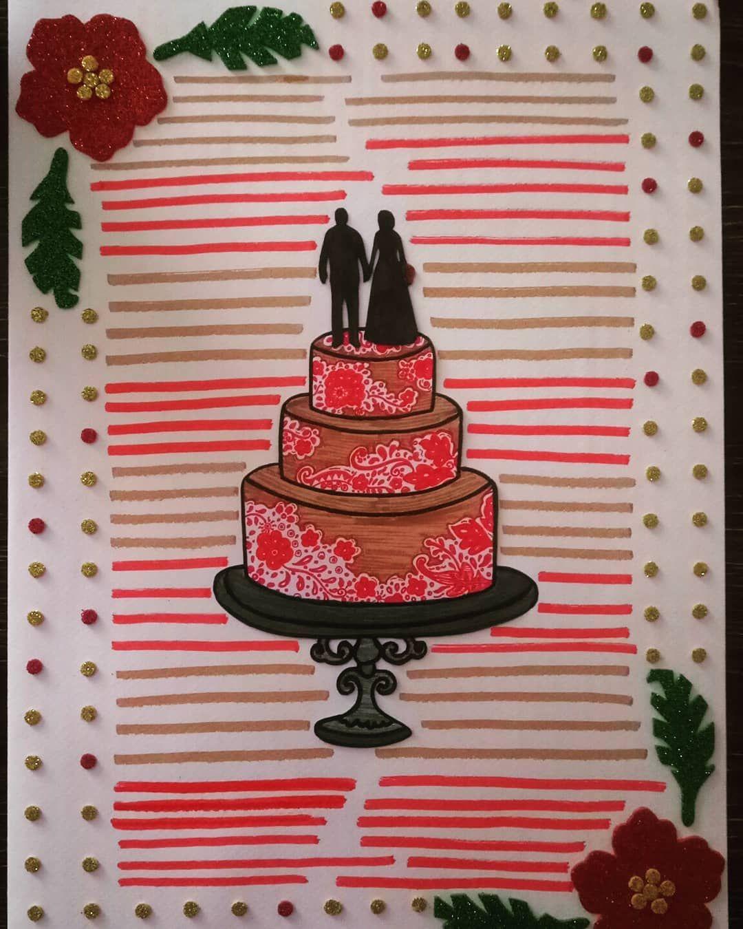CONGRATULATIONS ON YOUR BIG DAY  A handmade wedding card.  @acrafts92
