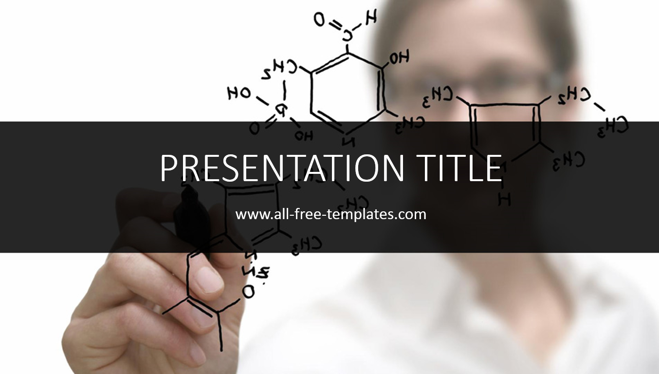 Chemistry Powerpoint Template  AllFreeTemplates  Powerpoint