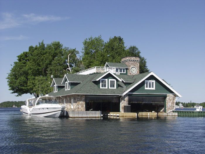 Address Led Garage Names Boathouses Are Grand