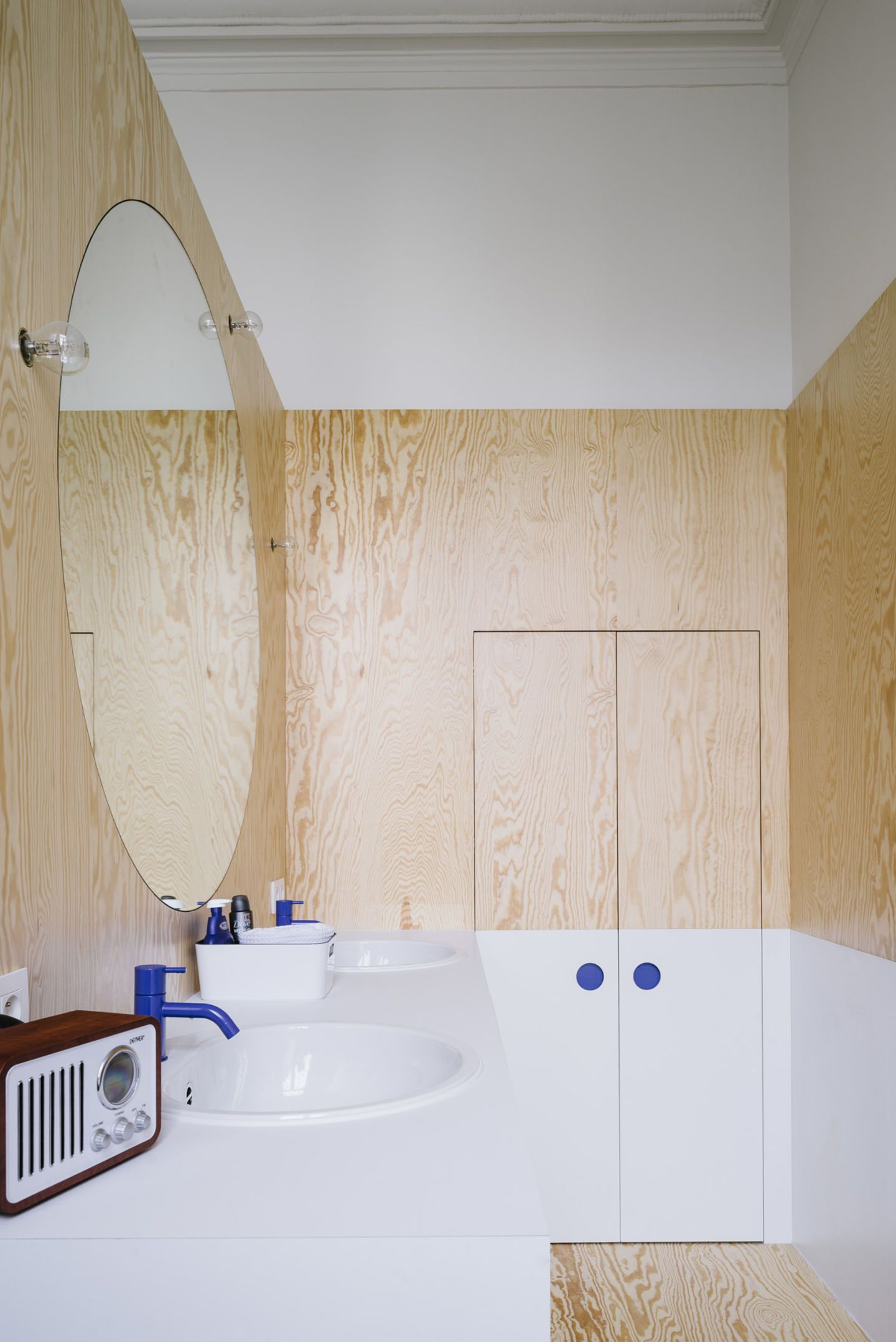 Photo of We have a new bathroom in an old bathroom in the old town of Antwerp / Bel …