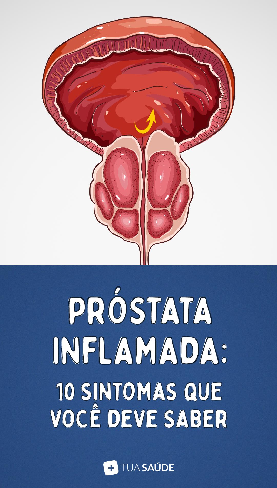 sintomas iniciais de problemas na prostata