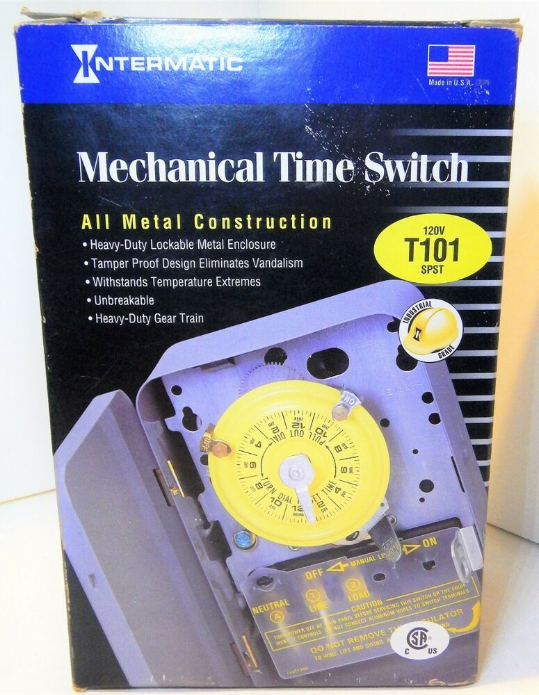 Intermatic 24 Hour Dial Time Switch T101
