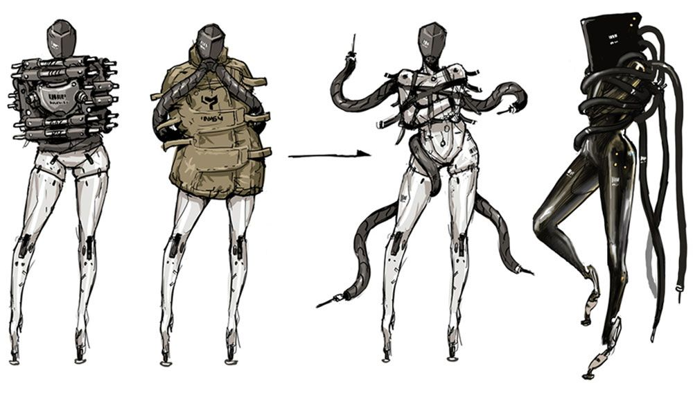 Metal Gear Rising: Revengeance ~ New Concept Art | #Concept
