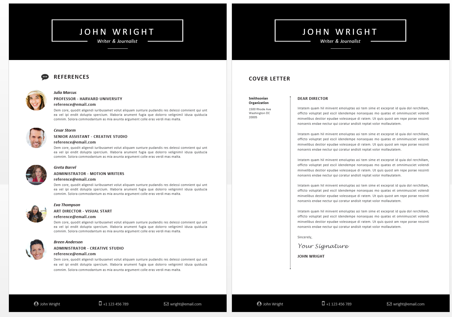 how to wright a cv