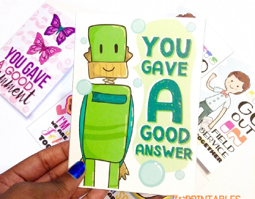 Thank You! Gas Money Card | JW Printables
