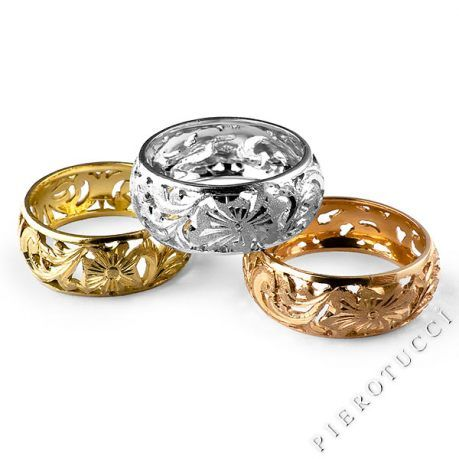 18K Italian gold Jewelry from Florence Italy at Pierotuccicom