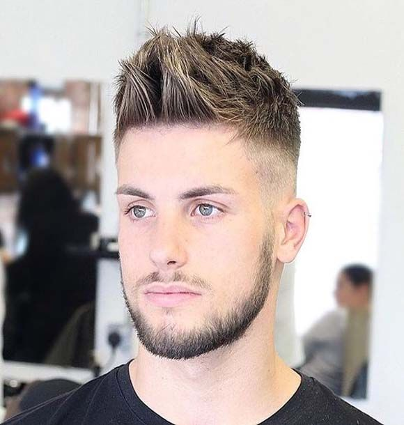 Cool Short Hairstyle For Men 2018 Baxter Hair Edgy Hair Mens Hairstyles