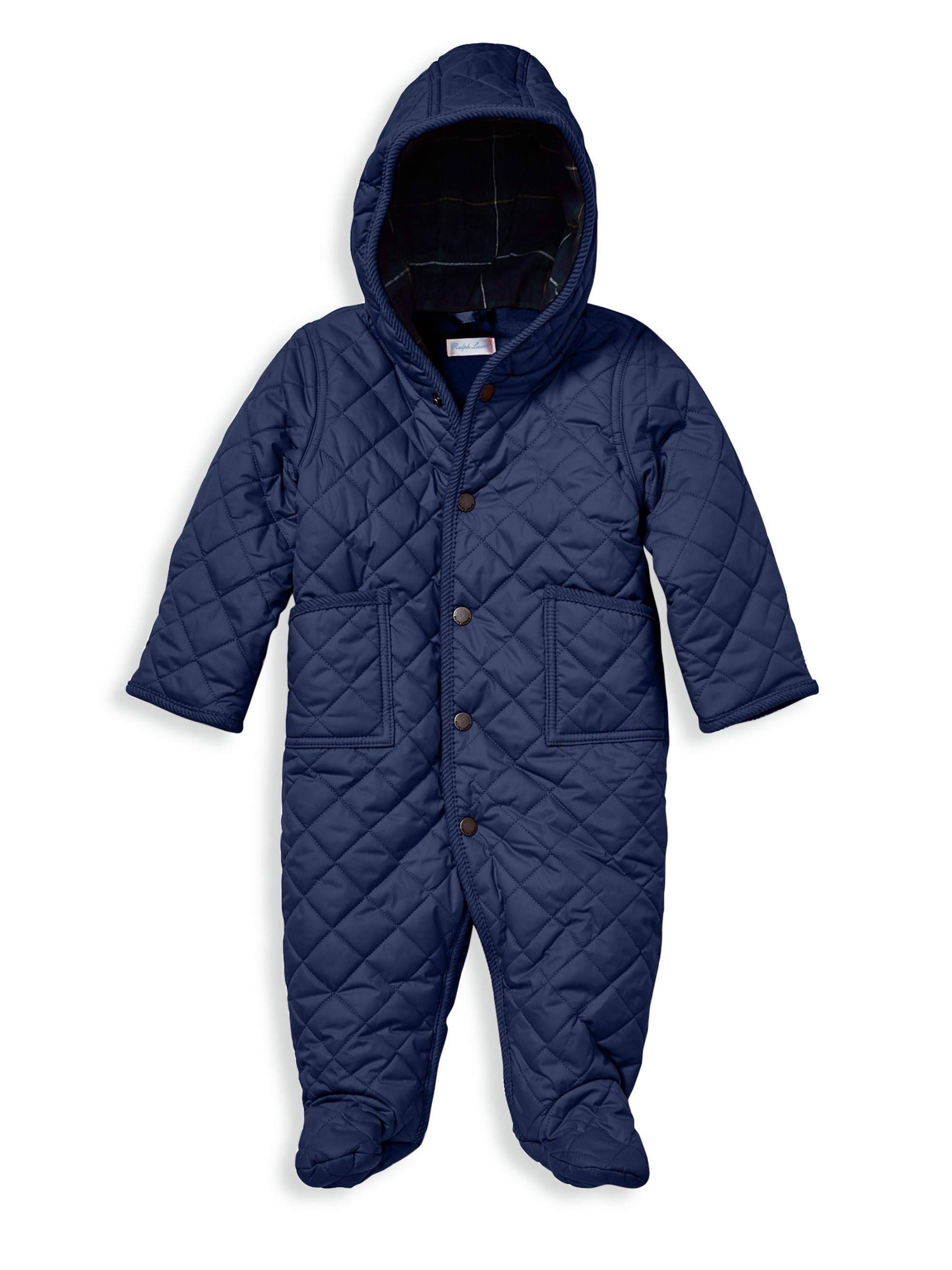 1f6245d3b Baby Boy s Barn Bunting Snowsuit by Ralph Lauren