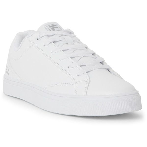 Fila White Amalfi Low Top Sneakers ($25) ❤ liked on